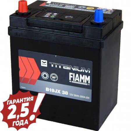 Аккумулятор Fiamm Japan - B19JX 38Ah (узкая клейма)