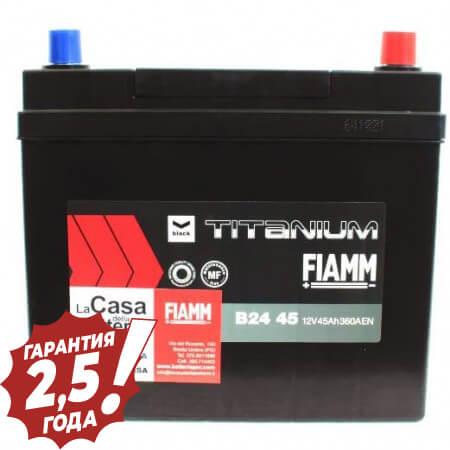 Аккумулятор Fiamm Japan Diamond - B24 45Ah 360A