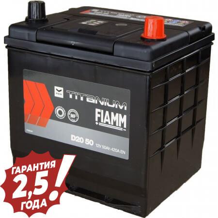 Аккумулятор Fiamm Japan Diamond - D20 50Ah 420A