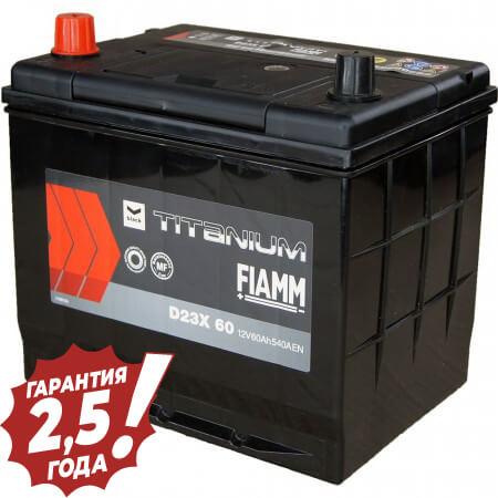 Аккумулятор Fiamm Japan Diamond - D23X 60Ah 540A