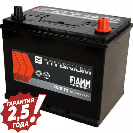 Аккумулятор Fiamm Japan Diamond - D26 75Ah 640A
