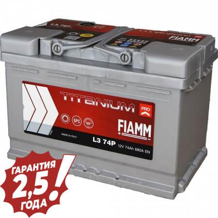 Аккумулятор Fiamm Titan - 74Ah 680A