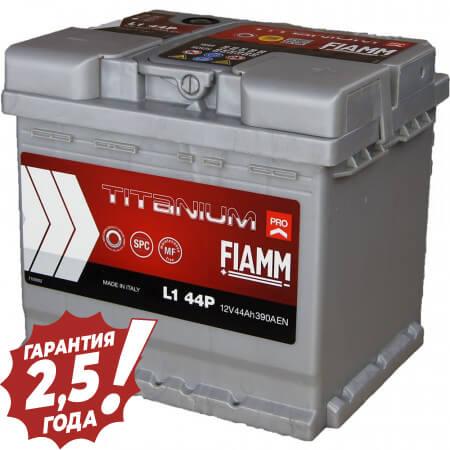 Аккумулятор Fiamm W-Titan - 44Ah 390A