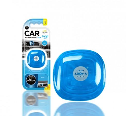 Ароматизатор Aroma Car Loop-Gel Aqua 9g