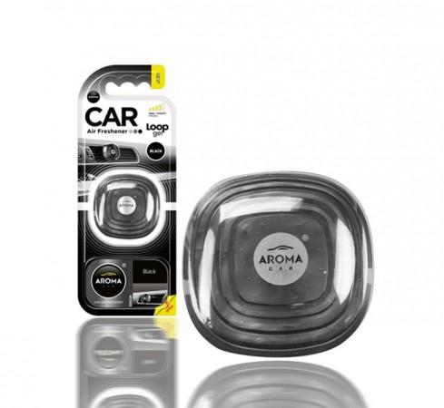 Ароматизатор Aroma Car Loop-Gel Black 9g