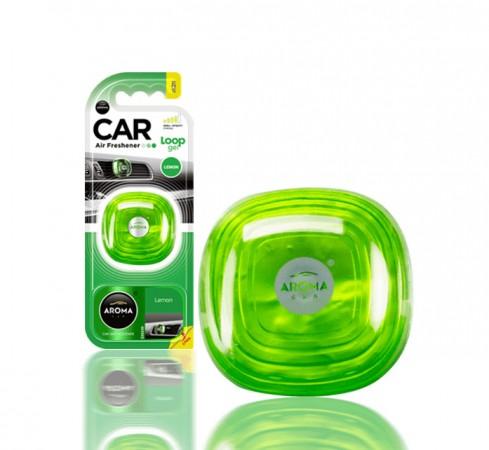 Ароматизатор Aroma Car Loop-Gel Lemon 9g