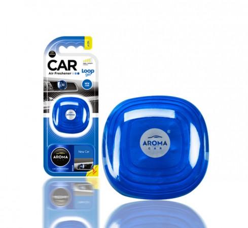 Ароматизатор Aroma Car Loop-Gel New-Car 9g