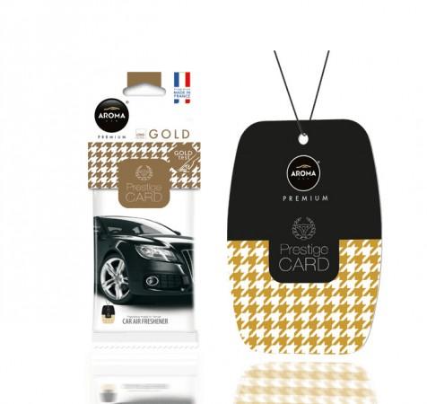 Ароматизатор Aroma Car Prestige Card - Gold