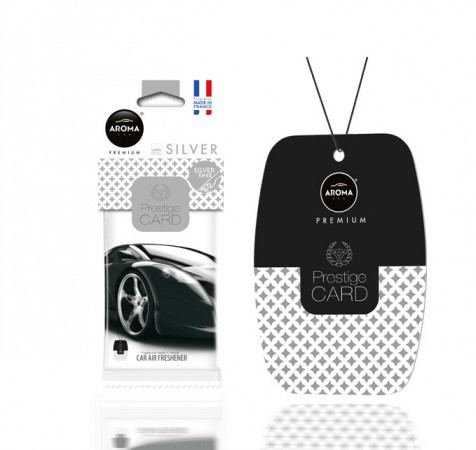 Ароматизатор Aroma Car Prestige Card - Silver