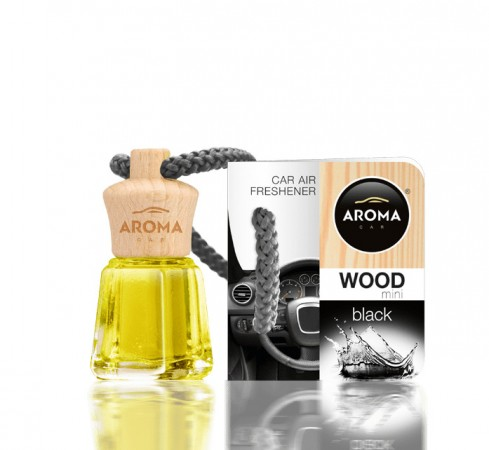 Ароматизатор Aroma car Wood - Black 4ml