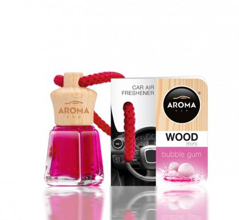 Ароматизатор Aroma car Wood - Bubble Gum 4ml