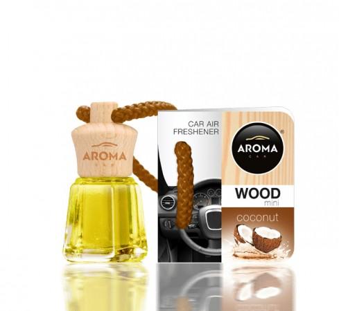Ароматизатор Aroma car Wood - Coconut 4ml