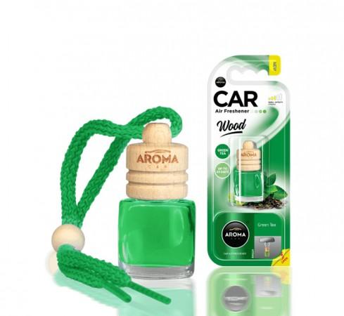 Ароматизатор Aroma car Wood - Green Tea 6ml