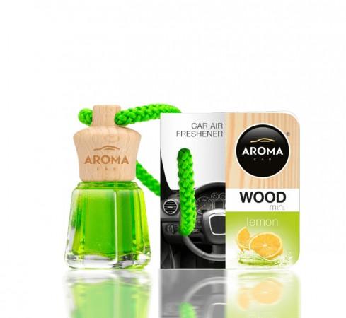 Ароматизатор Aroma car Wood - Lemon 4ml