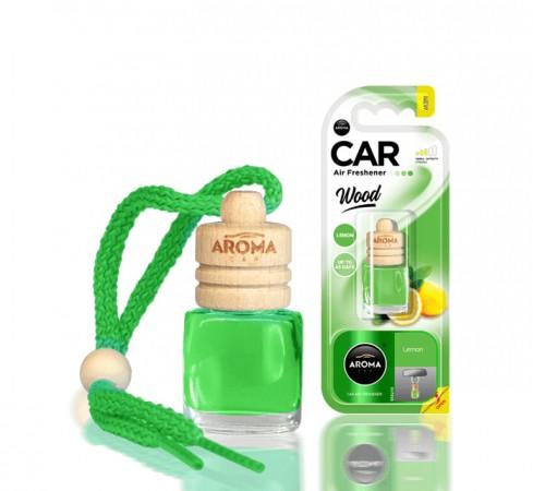 Ароматизатор Aroma car Wood - Lemon 6ml