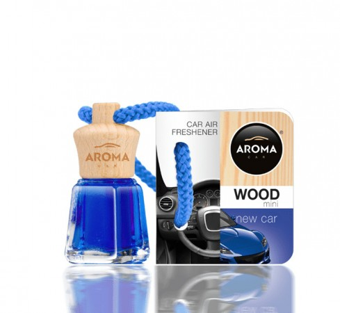 Ароматизатор Aroma car Wood - New Car 4ml