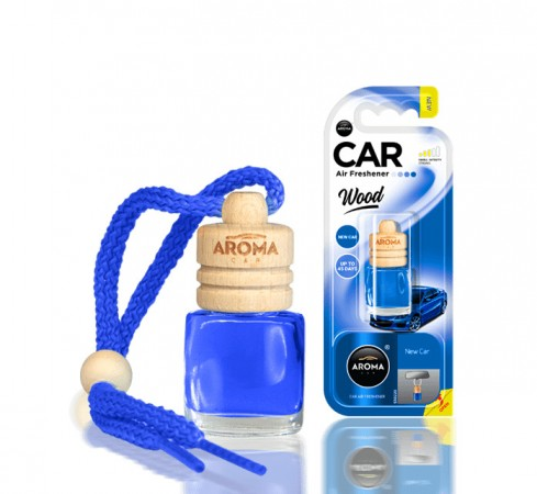 Ароматизатор Aroma car Wood - New Car 6ml