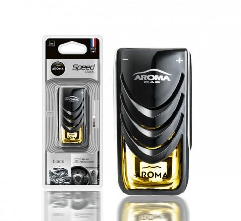 Ароматизатор на дефлектор AROMA CAR SPEED - Black 8ml