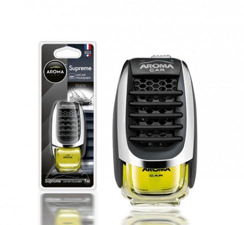 Ароматизатор на дефлектор AROMA CAR SUPREME - Black 8ml