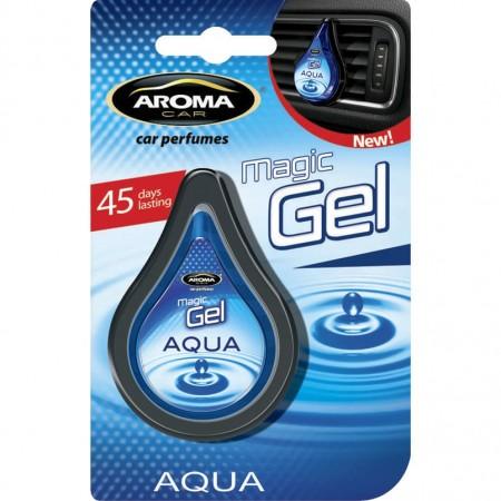 Ароматизатор на дефлектор MAGIC GEL Aroma Car Aqua 10g