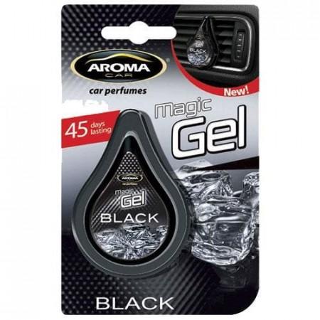 Ароматизатор на дефлектор MAGIC GEL Aroma Car Black 10g