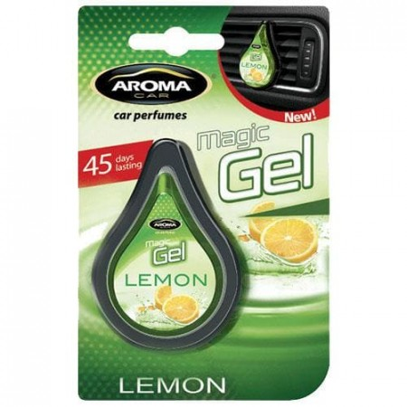 Ароматизатор на дефлектор MAGIC GEL Aroma Car Lemon 10g