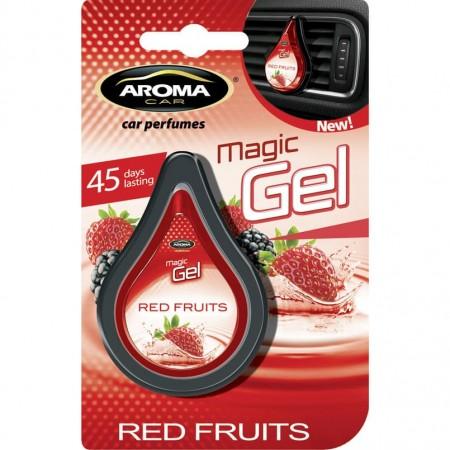 Ароматизатор на дефлектор MAGIC GEL Aroma Car Red-Fruits 10g