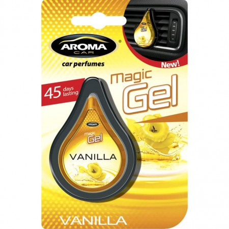 Ароматизатор на дефлектор MAGIC GEL Aroma Car Vanilla 10g
