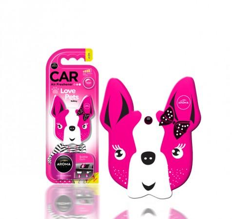 Ароматизтор Aroma Car Polymers Dog - Pink Blossom
