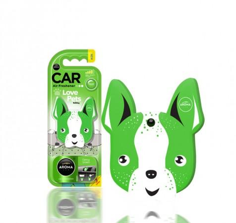 Ароматизтор Aroma Car Polymers Lips - Fancy Green