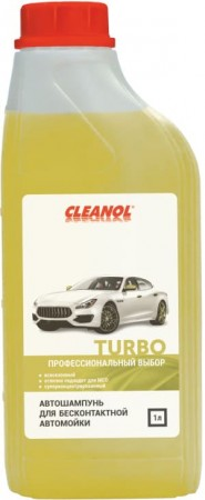 "Автошампунь Cleanol ""Turbo"" для б/м - 1л"