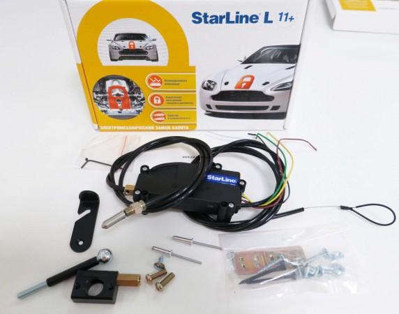 Электромехан. замок капота L-11+ Starline