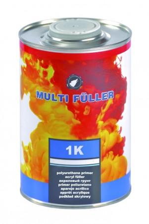 Грунт акриловый - серый Multi Fuller 1K - 0.8л