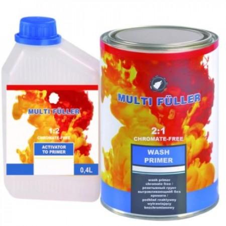 Грунт реактивный протравливающий поливиниловый WASH PRIMER 2:1 - 0,8 л