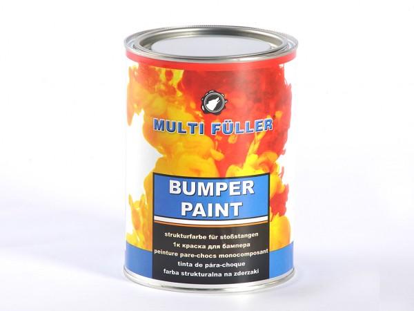 Краска черная для бамперов Multi Fuller - 0,8 л