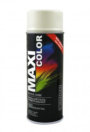 Краска Maxi Color Белый глянец 400ml