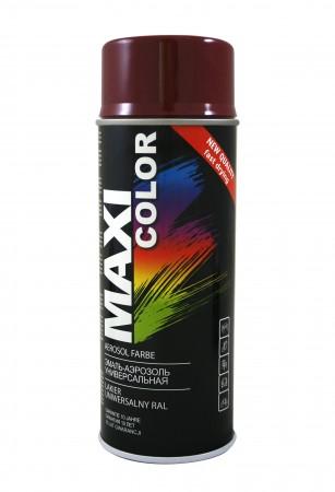 Краска Maxi Color Бордовый 400ml