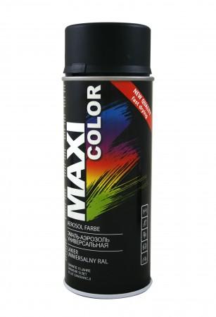Краска Maxi Color Черный мат 400ml