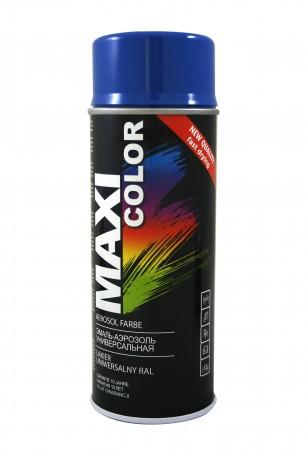 Краска Maxi Color Тёмно голубая 400ml
