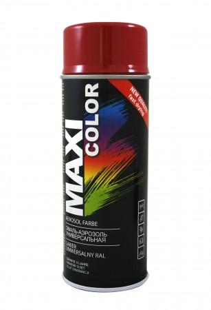 Краска Maxi Color Темно красный 400ml