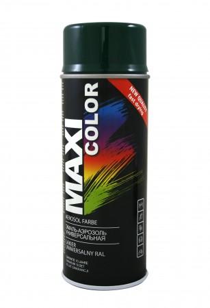 Краска Maxi Color Темно-зеленый 400ml