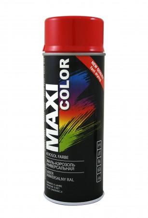 Краска Maxi Color Ярко-красный 400ml
