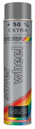 Краска Motip Серебристый/Алюминевый 600ml Wheel Silver