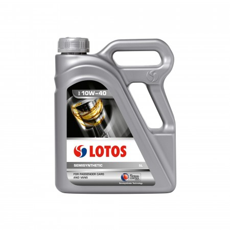 Масло LOTOS 10W40 Semisyntetic SL/CF 5L