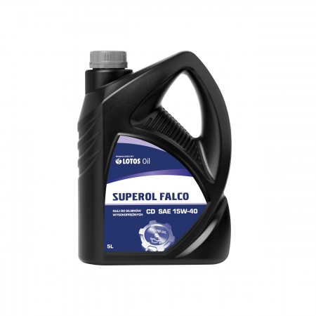 Масло LOTOS 15W40 Superol Falco CD 5L