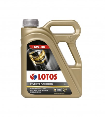 Масло LOTOS 5W40 Synthetic TurboDiesel 5L