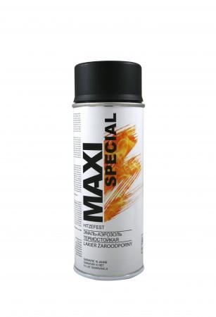Термост. эмаль Maxi Color чёрный 400ml