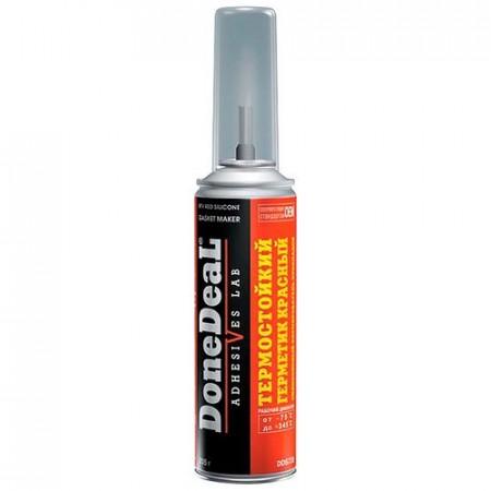 Термостойкий герметик- формирователь прокладок силиконовый красный 226 г