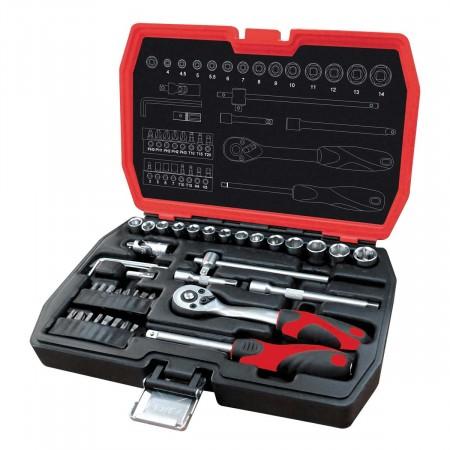 ZiPower 42 предмета Набор ручного инструмента PM4114