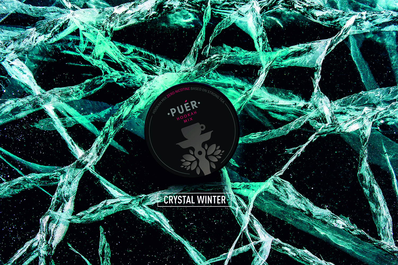 Crystal Winter / Чистый Холод / Iarna de cristal Puer Hookah Mix 09